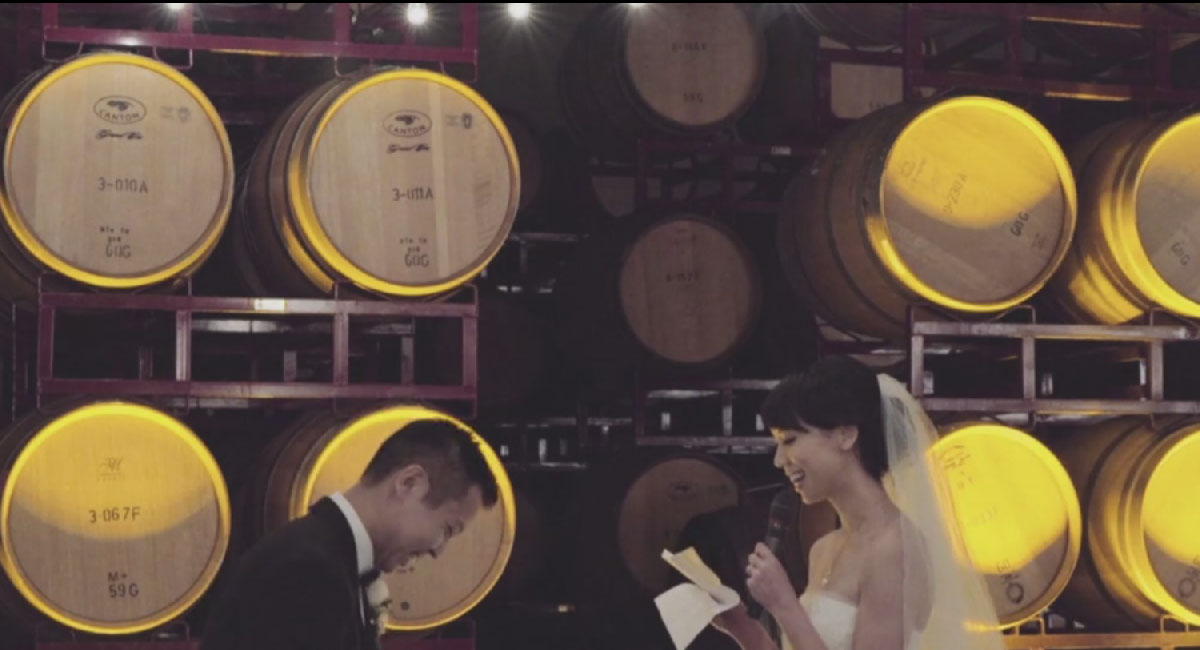 Watch: Wedding Video at Concannon Vineyards, California