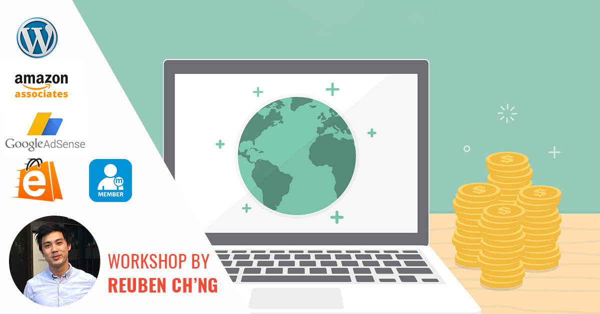 [18th June Workshop Event] – Build Your Website & Monetize With 5 Different Strategies