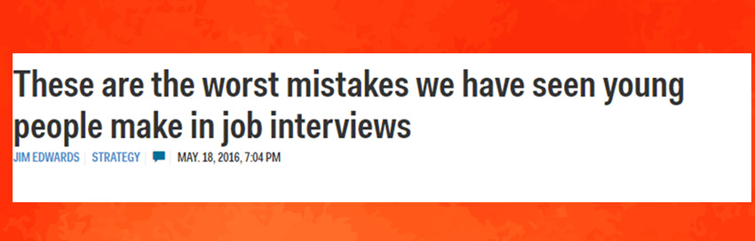 This headline should be familiar to you too