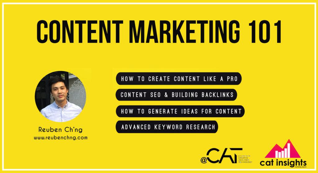 content marketing course acat penang