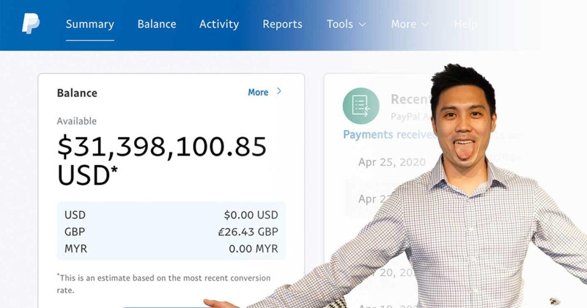 How I made USD31,398,100 online