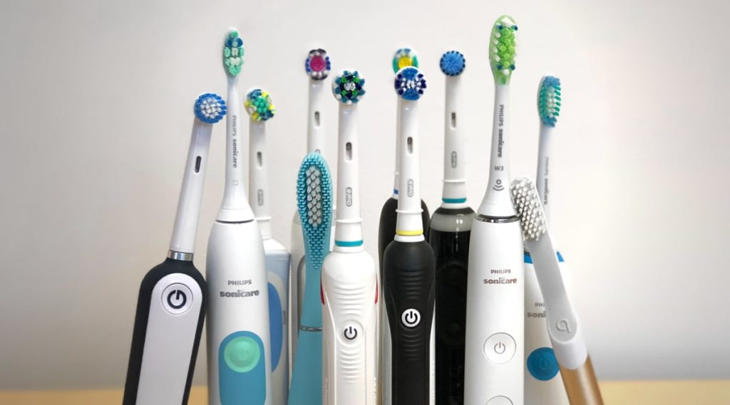 why is toothbrush multi-colored